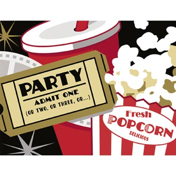 Image result for popcorn party