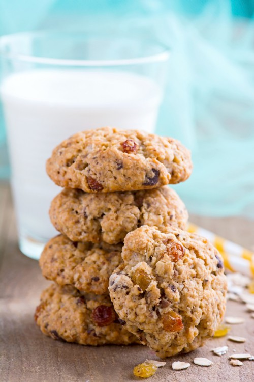 shindigz Chocolate Chip Oatmeal Cookies
