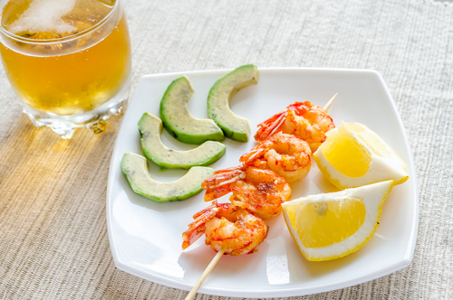 shindigz Grilled Shrimp and Avocado