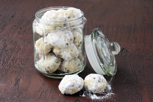 shindigz Chocolate Snowball Cookies