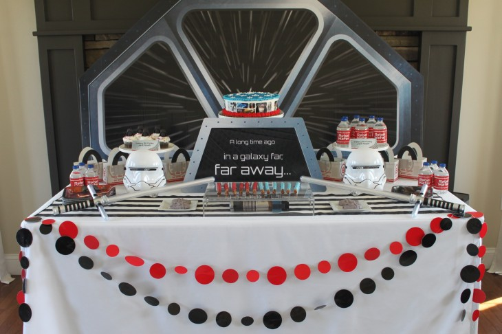 Star Wars Dessert Table Final